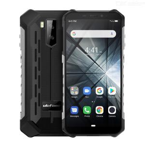 Ulefone Armor X3 Android 9.0 IP68 IP69K Rugged Phone 5.5 Inch 5000mAh Quad Core 2GB RAM 32GB ROM 3G Waterproof Smartphone