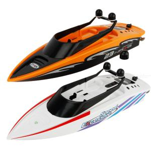 3323 RC Boat 2.4G Innovative Kids Water Pool Toy 4-channel Waterproof Electric Remote Control Racing Speedboat