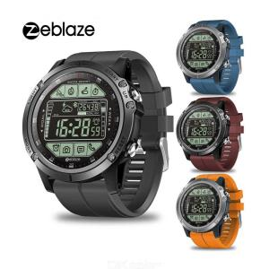 Zeblaze VIBE 3S Rugged Outdoor Smart Watch, 50M Waterproof 5ATM Smartwatch Real-time Weather Fitness Tracker For Men