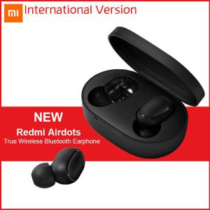 Xiaomi Redmi AirDots TWS Bluetooth 5.0 Earbuds True Wireless Bluetooth Earphones - International Version