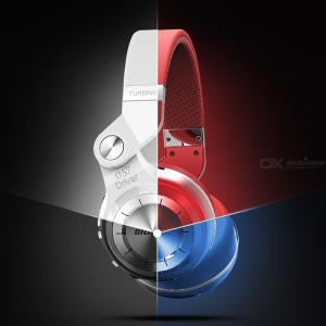 Bluedio T2 Plus Bluetooth Wireless Headphone With Micro SD Card Slot