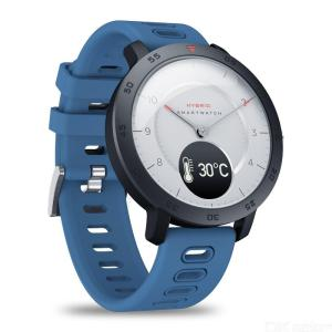 Zeblaze HYBRID Dual Modes Mechanical Smart Watch Heart Rate Blood Pressure Monitor Real-time Weather Temperature Goal Reminders
