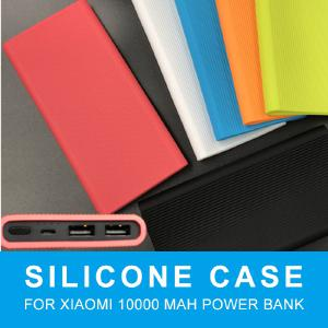 Silicone Protector Case Cover Skin Shell Sleeve Only For Xiaomi 10000mAh Dual USB Power Bank Powerbank Soft Cover
