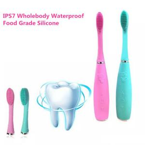 Sonic Electric Toothbrush, USB Rechargeable Antibacterial Silicone Tooth Brush For Children Adults