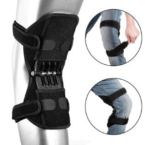 Spring Force Knee Booster Power Lift Joint Support Knee Pads, Breathable Non-slip Powerful Rebound Knee Brace