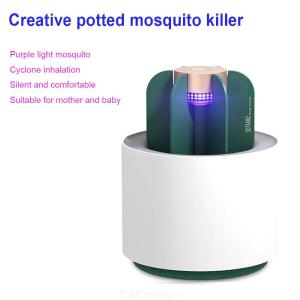 Original New Xiaomi Mijia Ecological Brand Mosquito Killer Lamp Portable Cactus USB Electric Mosquito Repellent Insect T