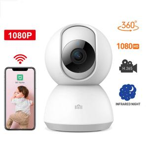 Original Xiaomi Mijia 360 Degree Night Version IP Smart Camera, WiFi Voice Baby Monitor Webcam For Mi Home - Global Version