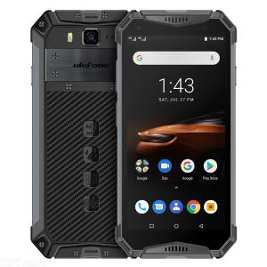 Ulefone Armor 3W Helio P70 5.7 Inch Android 9.0 IP68 Rugged Waterproof with 10300mAh Battery 6GB RAM 64GB ROM - Global Version