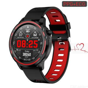 L8 ECG+PPG IP68 Bluetooth Smartwatch Smart Sport Watch Health Tracker With 320mAh Battery For Men, Support Android IOS