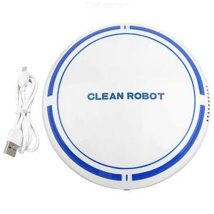 Robotic Vacuum Cleaner Rechargeable High Suction Robot Vacuuming Mopping Cleaner