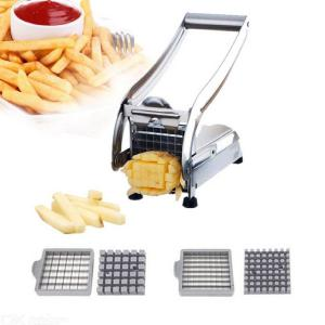 Professional Stainless Steel Potato Chipper Household Vegetable Cutter Kitchen Tool
