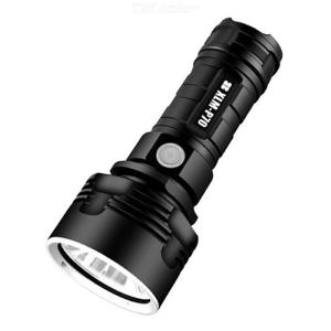 Super Bright LED Tactical Flashlight Waterproof Outdoor Torch Light