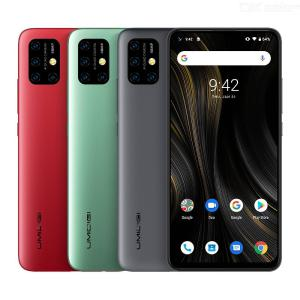 UMIDIGI Power 3 Android 10 4GB 64GB 48MP Quad AI Camera 6150mAh 6.53 inch FHD+ Helio P60 NFC Mobile Phone Global Version