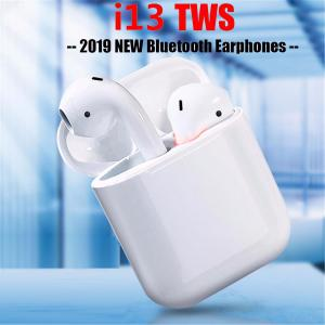 TWS i13 Bluetooth 5.0 Wireless Earphones Noise Reduction 3D Stereo Touch Control Earbuds with Mic Charging Case
