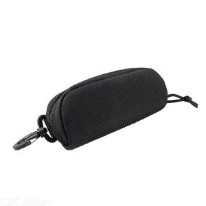 Tactical MOLLE Glasses Case Shockproof Protective Box Portable Outdoor Sunglasses Pouch Eyewear Carry Bag for Hunting Hiking