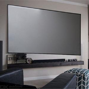 High Brightness Reflective Projector Screen, 60 100 120 Inch 16:9 Fabric Cloth Projector Screen for Epson BenQ XGIMI Home Beamer
