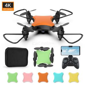 KY902S Colorful Mini Drone WiFi Live Quadcopter With Headless Mode One Key Takeoff Land Headless Mode Altitude Hold