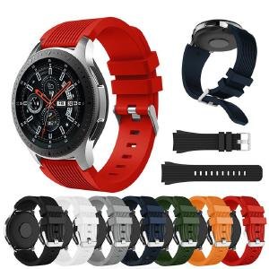 Silicone Watch Strap For Samsung Galaxy Watch 46mm Sport Replacement Watchband