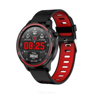 Mens Smart Watch Fitness Tracker With Heart Rate Blood Pressure Monitors Message Reminder IP68 Waterproof For Android IOS