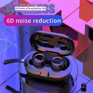Bluetooth 5.0 Wireless Earbuds Waterproof Noise Cancelling 6D Stereo Touch Control TWS Sport Earphones With Mic Charging Case