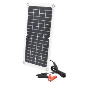 10W Ourdoor Solar Panel Charger with Dual USB DC Port Outuput
