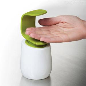 C-Type One-Handed Back Press Shampoo Bottle Soap Dispenser for Hotel Bathroom