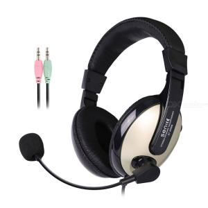 SENICC ST2688 Wired Gaming Headset 3.5mm PC Over-ear Headphone With Microphone