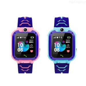 S12 Kids Smart Watch Phone Childrens Smartwatch With LBS Tracker SOS Alarm Dual Way Talk For Boys Girls