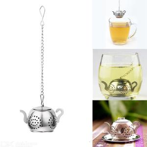 Tea Stainless Steel Ball Strainer Filter Herb Spice Pot