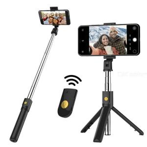 K07 Extendable Bluetooth Selfie Stick Mobile Phone Tripod Desktop Holder For Selfie Live Broadcast