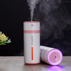 M1 Portable Mini Car Air Humidifier With LED Night Light
