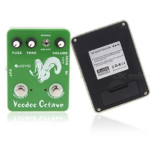 JOYO JF-12 Voodoo Octave Fuzz Guitar Effect Pedal with True Bypass