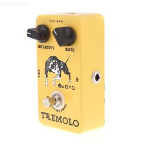 Joyo JF-09 Tremolo Guitar Effect Pedal with True Bypass