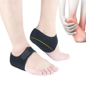 Velcro Leg Warmer Ankle Support, Anti-slip Foot Sleeve Heel Cover Protective Wrap