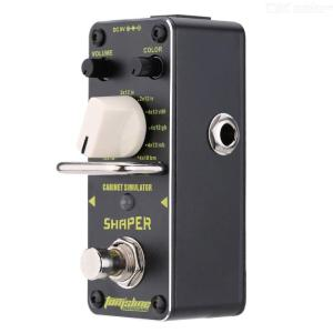 AROMA ASR-3 Shaper Cabinet Simulator Mini Single Electric Guitar Effect Pedal with True Bypass