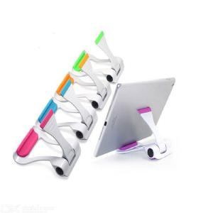 Desk Phone Holder Stand Foldable Phone Tablet Stand Mounts for All Mobile Phones Tablets iPhone 5 6 iPad 2 4 Pro