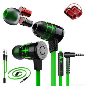 PLEXTONE G25 Metal Magnetic 3.5mm Wired In-Ear Sports Earphone Bass Sound Gaming Headset With Microphone