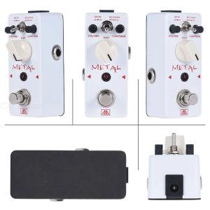 AROMA AHOR-5 Classic Heavy Metal Distortion Guitar Effect Pedal with 2 Modes, Aluminum Alloy Body True Bypass