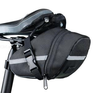 Waterproof Bike Saddle Bag, Bicycle Under Seat Storage Tail Pouch Cycling Bag