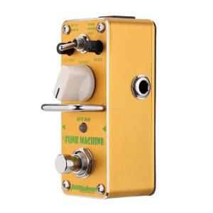 AROMA AFK-3 Funk Machine Auto Wah Mini Single Electric Guitar Effect Pedal with True Bypass Guitar Parts