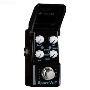 JOYO JF-317 Space Verb Digital Reverb Mini Electric Guitar Effect Pedal with Knob Guard True Bypass