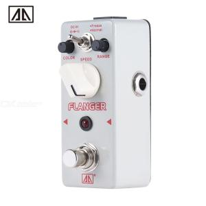 AROMA ATR-5 Classic Analog Flanger Guitar Effect Pedal with 2 Modes Aluminum Alloy Body True Bypass