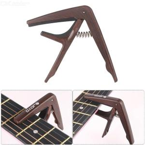 JOYO JCP-01 Plastic Steel Light Capo Quick Change Clamp Key with Pick for 6-String Acoustic Electric Guitar