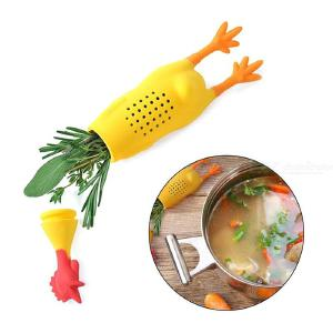 Crock Chicken Herb Food Infuser, Safe Bouquet Silicone Garni Casseroles Soups Stews Cooking Tool