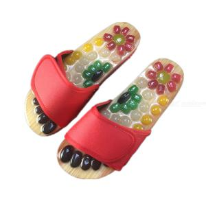 Feet Massage Reflex Slipper Sandal Rest Stone Acupuncture Foot Healthy Massager Shoes