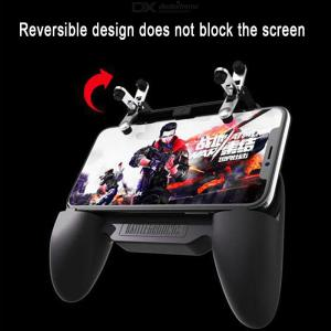 SR W10 Mobile Game Controller Gaming Joystick Trigger With Cooling Fan