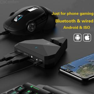 G5 Bluetooth 4.1 Adapter Mobile Gamepad Gaming Keyboard Mouse Converter For IPhone IOS Android Phone