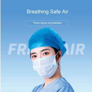 Disposable Face Masks 3 Ply Non-woven Anti Droplet Respirator Masks -10PCS/Set