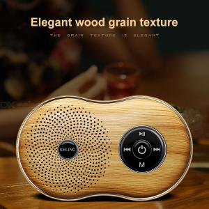 S8 Bluetooth Wireless Speaker Retro Mini Portable Bluetooth Speaker With Extra Bass 3D Stereo Sound, Support TF Card