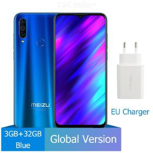 Meizu M10 Global Version MTK P25 Octa-Core Triple Camera 6.5-Inch Smartphone With 3GB RAM 32GB ROM 4000mAh Battery - EU Plug